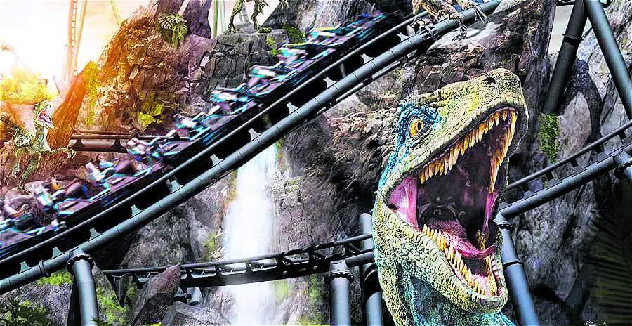 VelociCoaster la nueva atracción de Jurassic World en Orlando FL